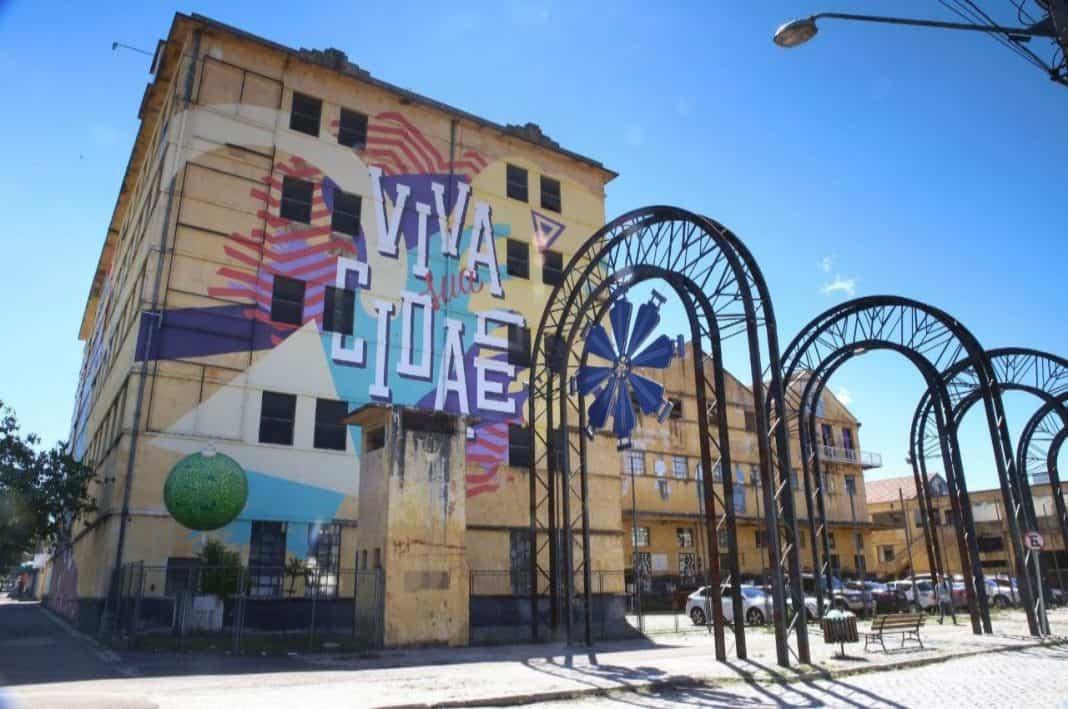 Fotografia do Engenho da Inovação, espaço da cidade de Curitiba de conexões de empresas, startups e empreendedores