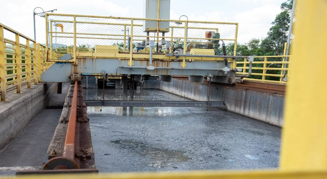 Fotografia de Estação de tratamento de água na cidade de Limeira (SP)