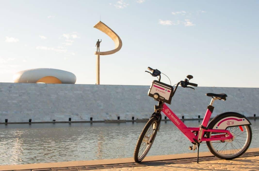 Fotografia de bikes da tembici