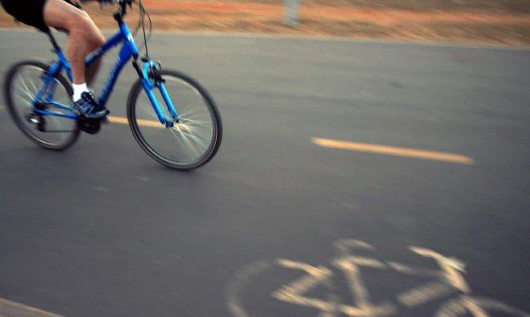 Fotografia que remete à estratégia nacional de uso da bicicleta