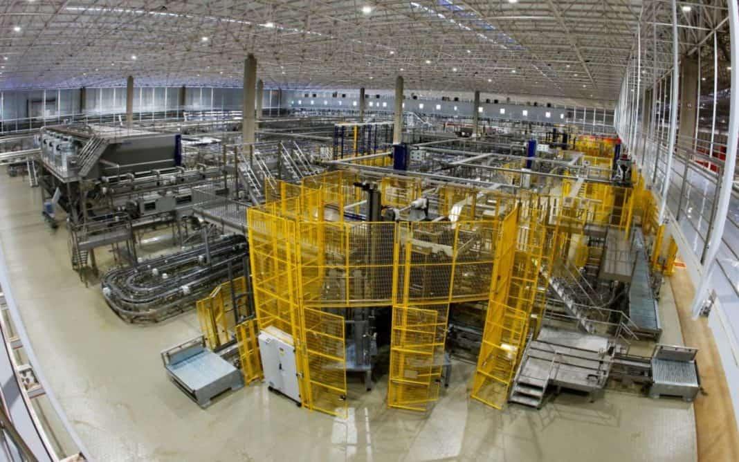 Fotografia de fábrica implementada pelo Governo de Minas
