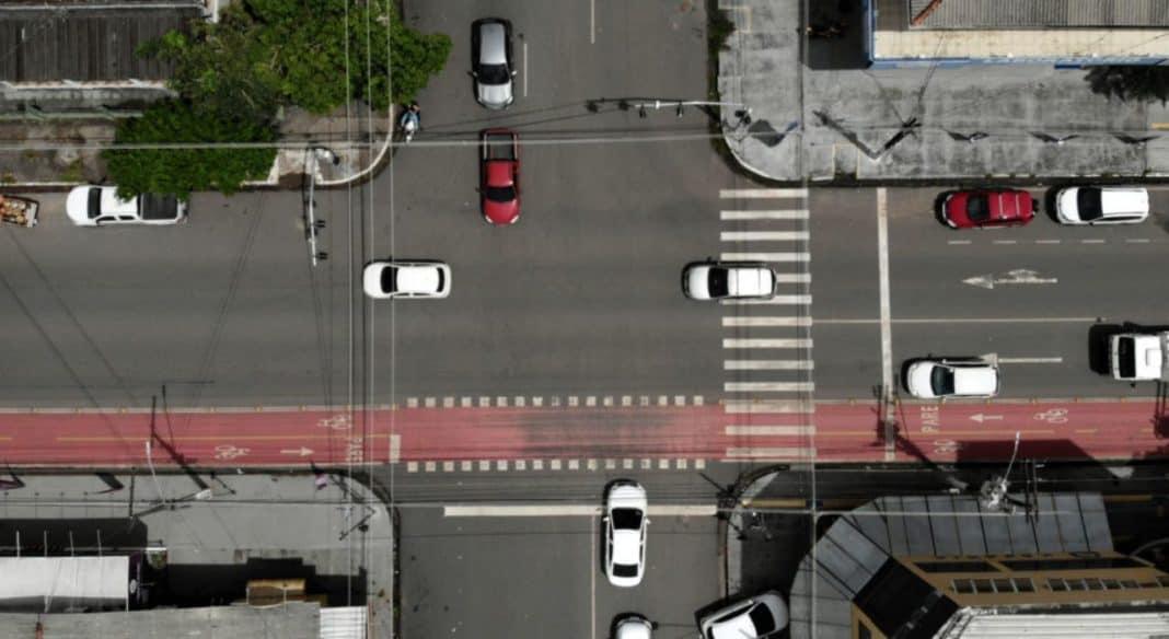 Fotografia de vista aérea de Macapá Cidade Inteligente
