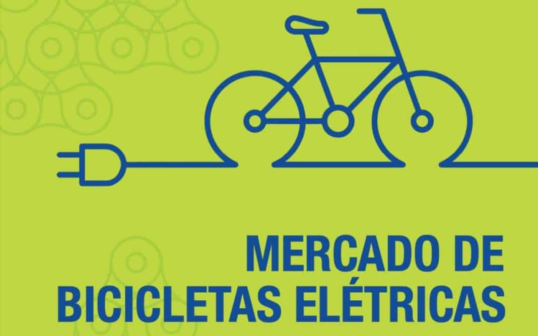 Reprodução da capa do Boletim Técnico do Mercado de bicicletas elétricas 2021