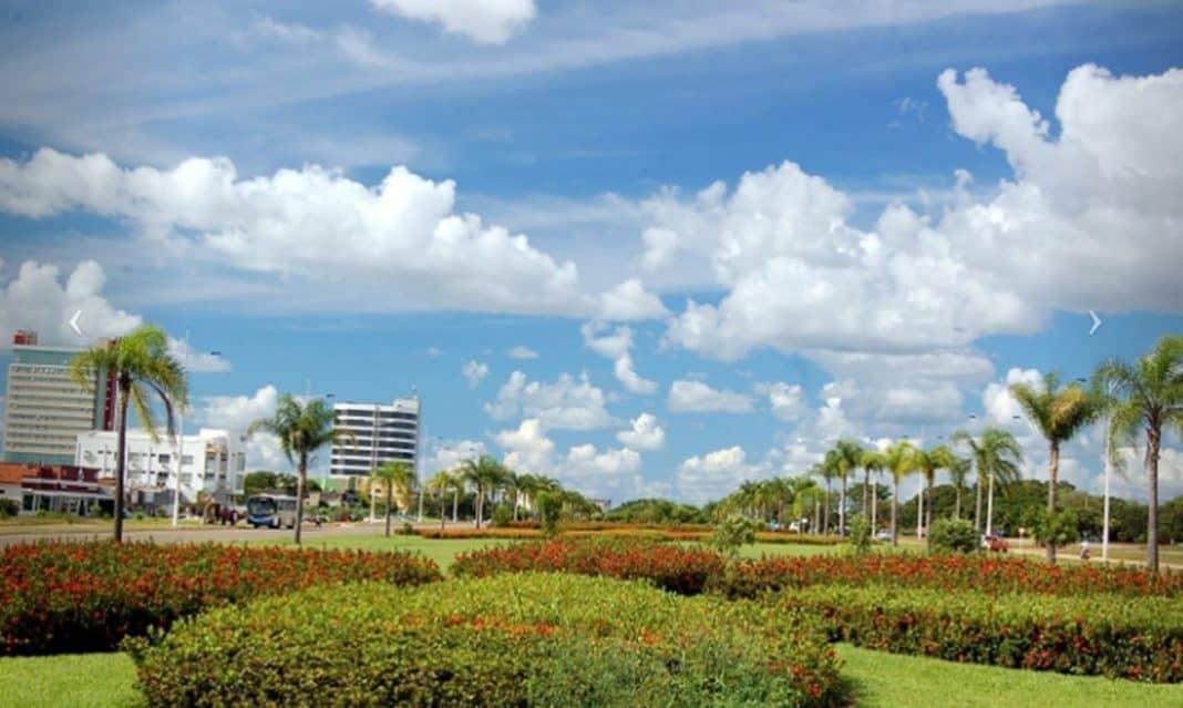 Fotografia da cidade de Palmas capital do Tocantins