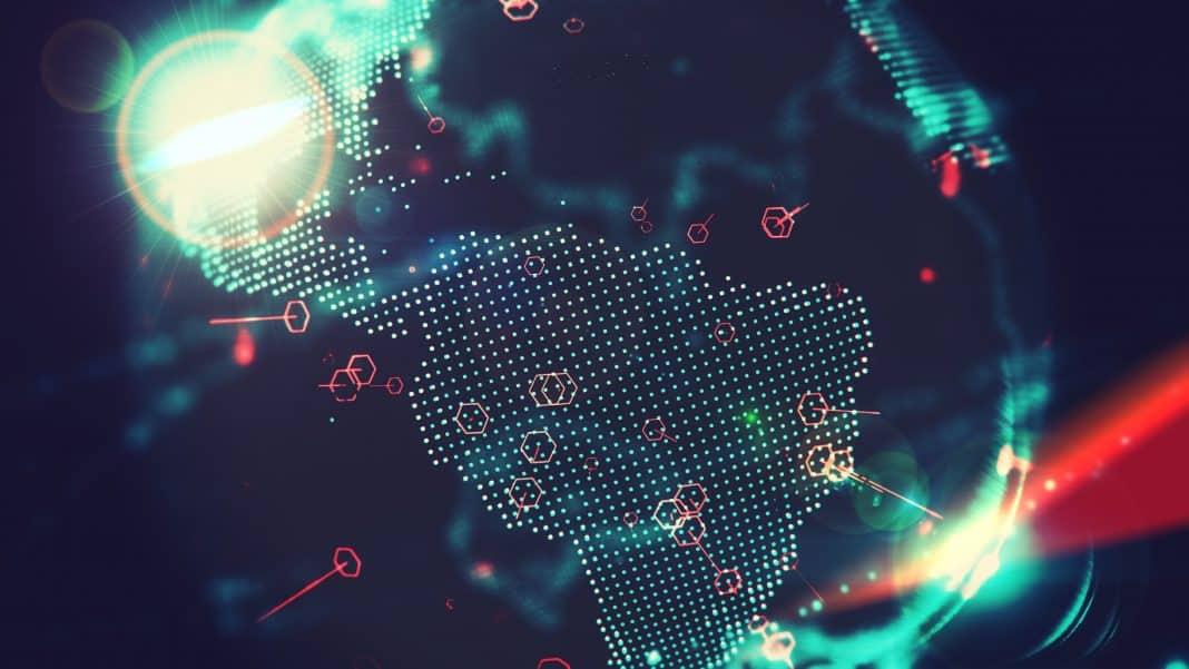 Mapa Brasil transformação digital avanço